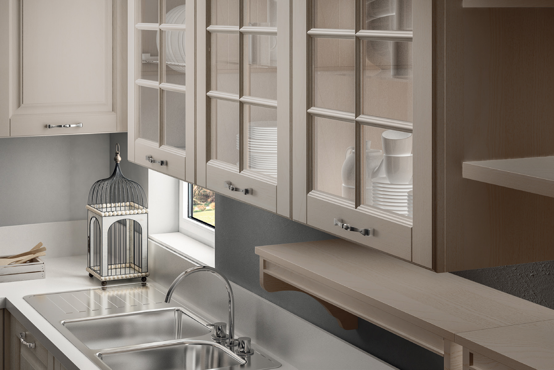 Beautiful Cucine Stosa Moderne Images - Amazing House Design ...
